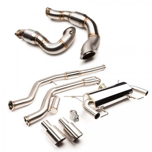 BMW 3-Serien N54 Turboback Avgassystem COBB Tuning