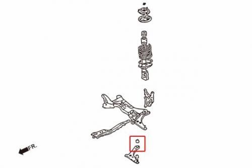 Lancer / Virage 01- Främre Nedre Länkarmsbussningar (Förstärkt Gummibussning) 2Delar/Set Hardrace