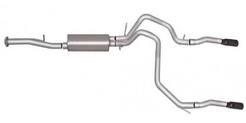Avalanche 5.3L 07-14 Stainless Cat-Back Dual Split Exhaust System Gibson