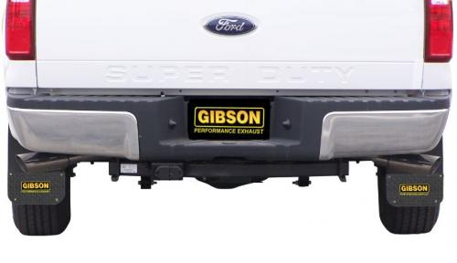 F-250 / F-350 Super Duty Pickup 6.2L 11-16 Crewcab,Long Bed Stainless Cat-Back Dual Extreme Exhaust System Gibson