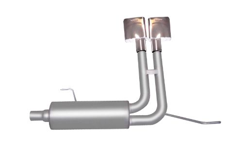 F-150 Pickup 4.6L-5.4L 04-08 Stainless Cat-Back Super Truck Exhaust System Gibson