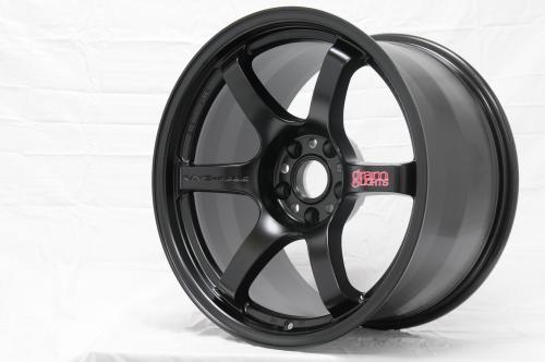 Gram Lights 57DR, 17X9.0, 12, 5x114.3, SEMI GLOSS BLACK