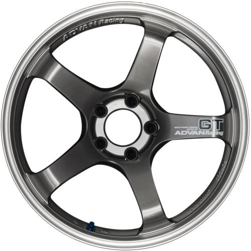 Advan GT Premium Version (Center Lock) 21x9,5 +46 Machining & Racing Hyper Black Wheel
