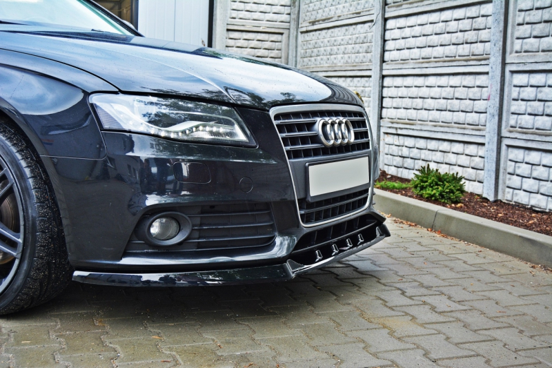 Audi A B Ej Facelift Frontsplitter V Maxton Design - Ej audi