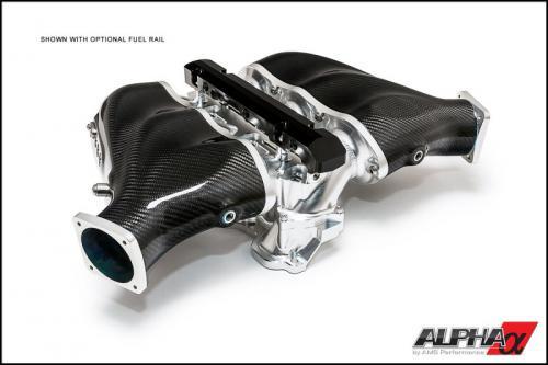 ALPHA GT-R Kolfiber & Billet Insug (Standard fuelrail)