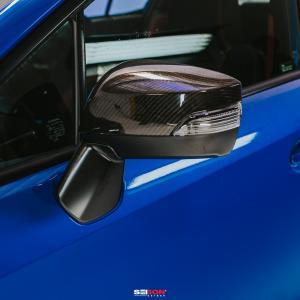 Subaru WRX / STI 2015-2020 Spegelkåpor Kolfiber SEIBON