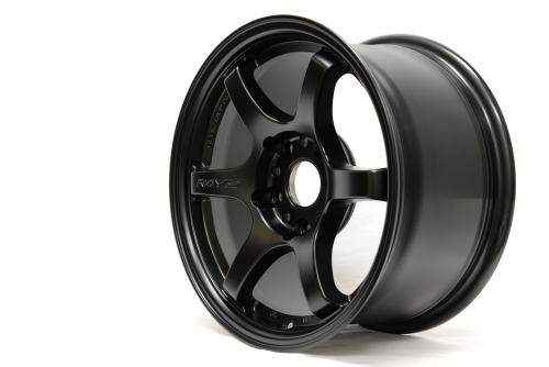 Gram Lights 57DR, 15X8.0, 28, 4x100, SEMI GLOSS BLACK