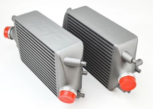 Porsche 991 Turbo / Turbo S Intercooler Set CSF Radiators