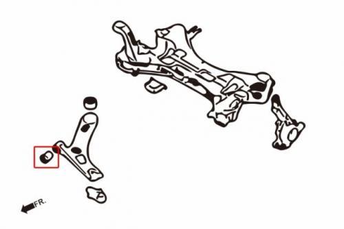 Hyundai / KIA Främre Nedre Länkarmsbussningar Främre (Förstärkt Gummibussning) 2Delar/Set Hardrace