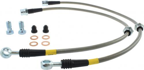 Audi, Volkswagen Front Stainless Brake Lines Stoptech