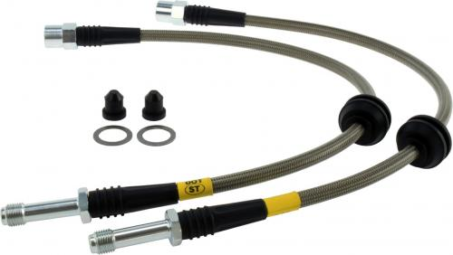 Audi Rear Stainless Brake Lines Stoptech
