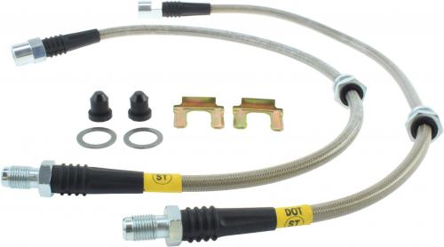 BMW Front Stainless Brake Lines Stoptech