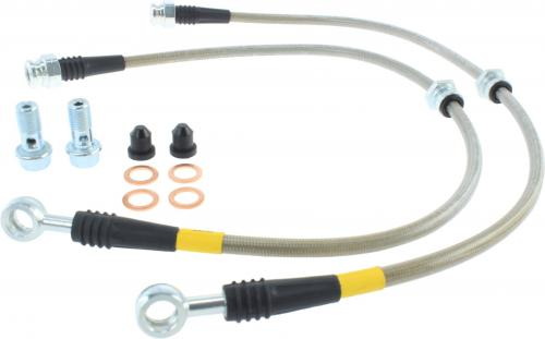 Mitsubishi Front Stainless Brake Lines Stoptech