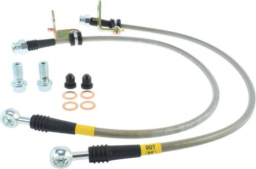 Hyundai Front Stainless Brake Lines Stoptech