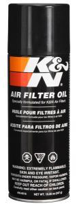 FILTER OIL; 12.25 OZ AEROSOL SPRAY Air Filter Oil - 12.25oz - Aerosol K&N