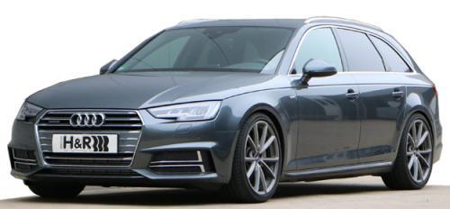 Audi A4 Avant Quattro Typ B8 (B9), 4WD 2015>  Sport Springs 40mm h&r