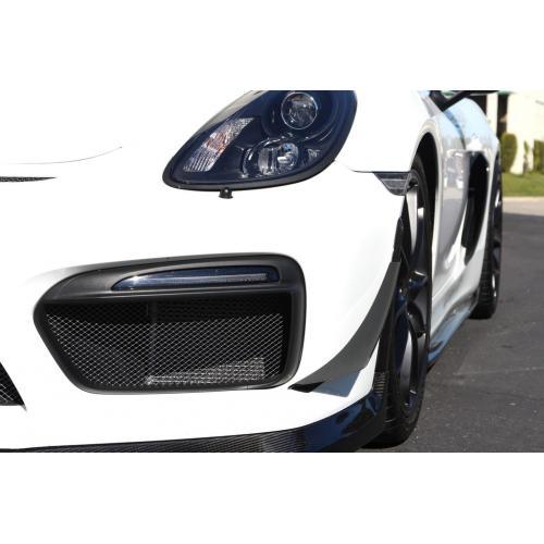 Porsche Cayman GT4 981 Canards Kolfiber APR Performance