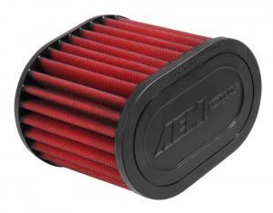 "2.75"" X 5"" OVAL DryFlow Filter AEM"