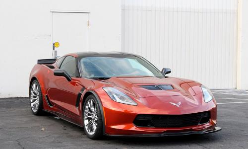 Corvette C7 Z06 2015+ Frontläpp Kolfiber APR Performance