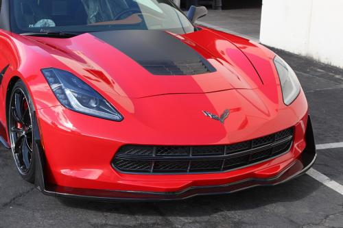 Corvette C7 2014+ Frontläpp Kolfiber APR Performance