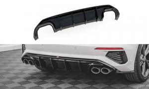 Audi S3 20+ Bakre Splitter V.1 Maxton Design
