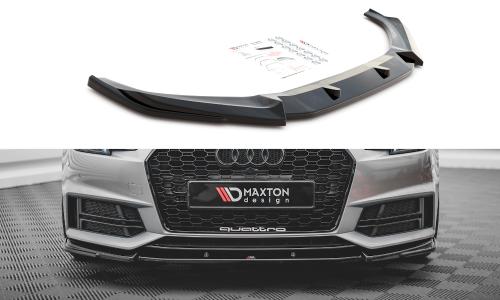 Audi S4 / A4 B9 S-Line 15-19 Frontläpp V.3 Maxton Design