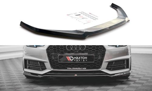 Audi S4 / A4 B9 S-Line 15-19 Frontläpp V.4 Maxton Design