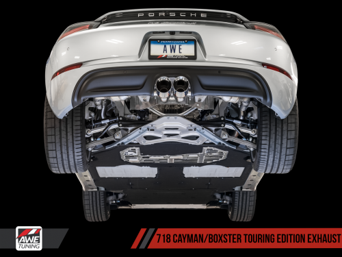 Porsche 718 Boxster / Cayman Touring Edition Exhaust AWE Tuning