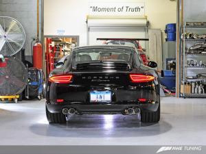 911 Tip Set - Polished Silver AWE Tuning
