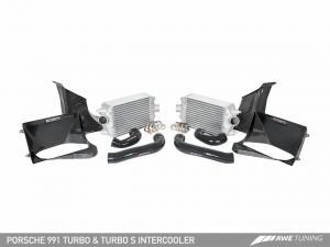 Porsche 991TT Performance Intercooler Kit AWE Tuning