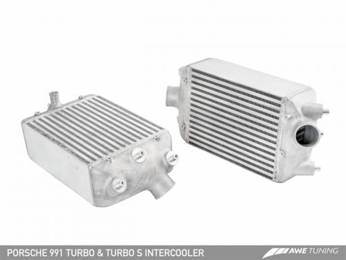 Porsche 991 Turbo/ Turbo S Performance Intercooler-Kit AWE Tuning