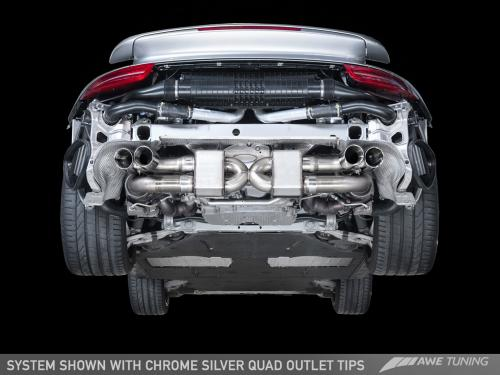 Porsche 991.1/991.2 Turbo Performance Avgassystem AWE Tuning