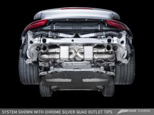 Porsche 991.1/991.2 Turbo Performance Avgassystem AWE Tuning