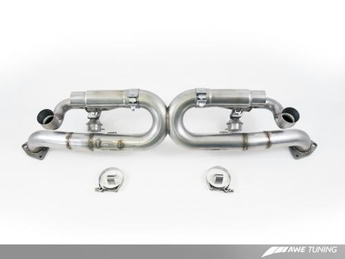 Porsche 991 Carrera 4/4S SwitchPath Avgassystem AWE Tuning