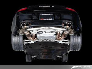 Porsche 997.2 Performance Cross Over Pipes AWE Tuning