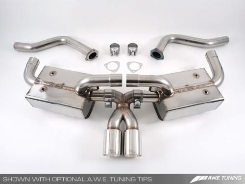Porsche 987 Cayman/S, Boxster/S Performance Avgassystem AWE Tuning