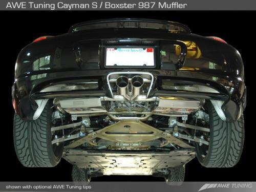 Porsche 987 Cayman/Boxster Utblås AWE Tuning