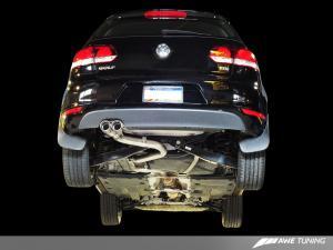Golf MK6 TDI Performance Exhaust  AWE Tuning