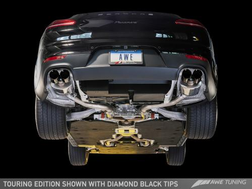 Panamera 2/4 970 Touring Edition Avgassystem (2011-2013) - With Diamond Black Utblås AWE Tuning
