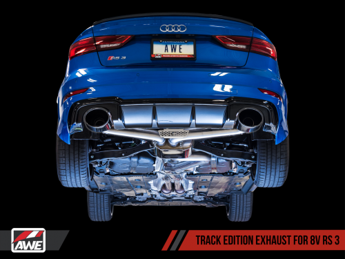 RS3 8V Sedan Catback SwitchPath / Track Edition AWE Tuning