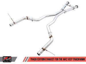 Jeep WK2 Grand Cherokee SRT / Trackhawk Track Exhaust System AWE Tuning