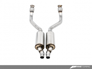 Audi 3.0T Resonated Downpipes AWE Tuning