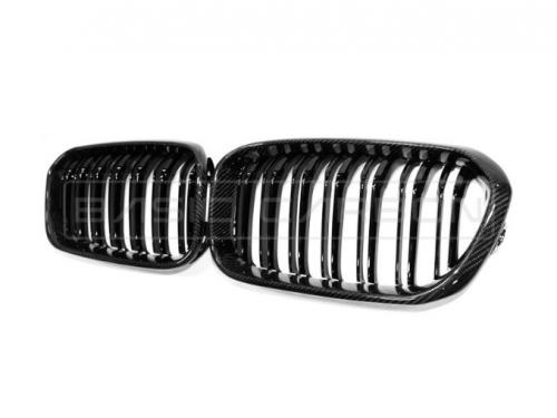 BMW F22 F23 F87 Kolfiber Njurar Grill (Inkl. M235i, M240i, M2 & M2 Competition) Basic Carbon