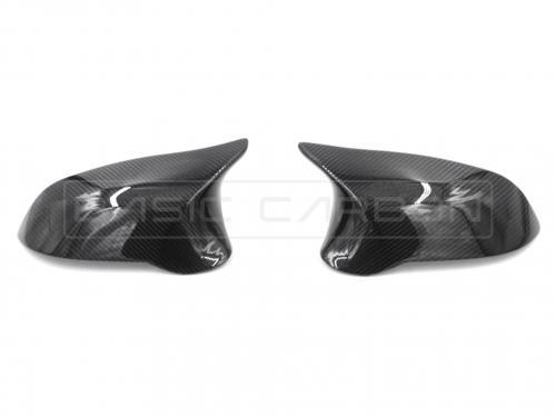 BMW F20 F22 F30 F32 F87 Kolfiber Sidospeglar (Inkl. M135i, 335i & M2) Basic Carbon