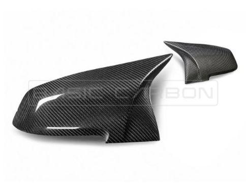 BMW F20 F22 F30 F32 F87 Pre-Preg Backspegelkåpor Torr Kolfiber (Inkl. M135i, M235i, 335i & M2) Basic Carbon