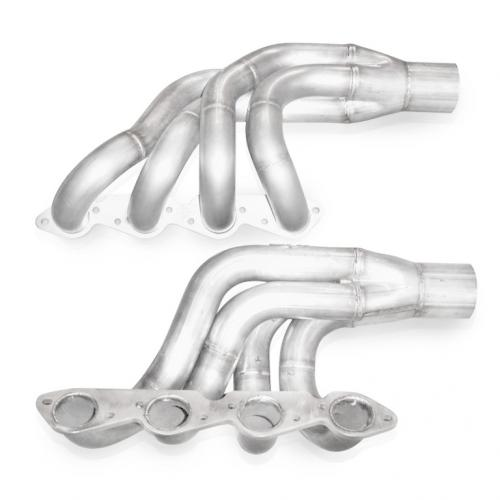 "Big Block Chevy (Up & Forward) Turbo Headers 2-1/4"" Runners 3.5"" (Slip Fit) Kollektorer Stainless Works"