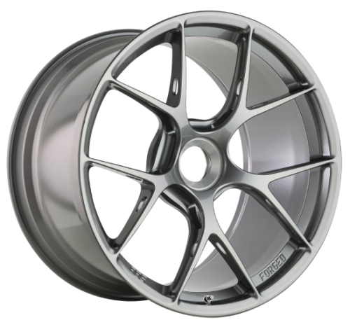 BBS FI-R, 20x9, 52, Center Lock, Platinum Silver