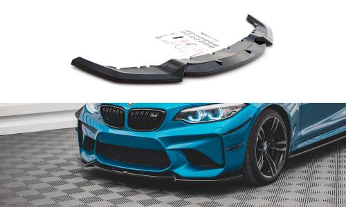 BMW M2 F87 16-20 Frontsplitter V.2 Maxton Design