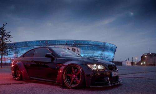 BMW M3 E92 Widebody Maxton Design