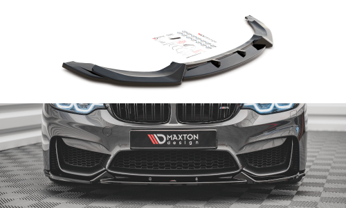 BMW M4 F82 14+ Frontsplitter V.1 Maxton Design